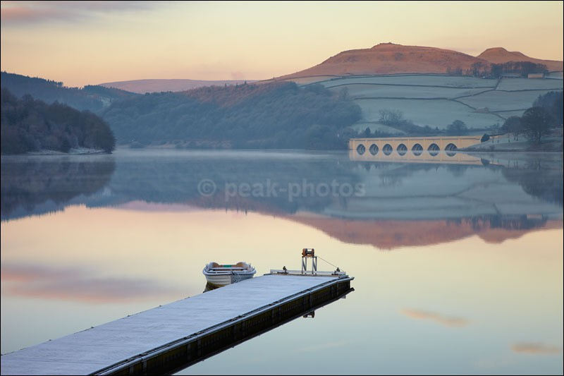 Ladybower Dawn - Peak District Winter
