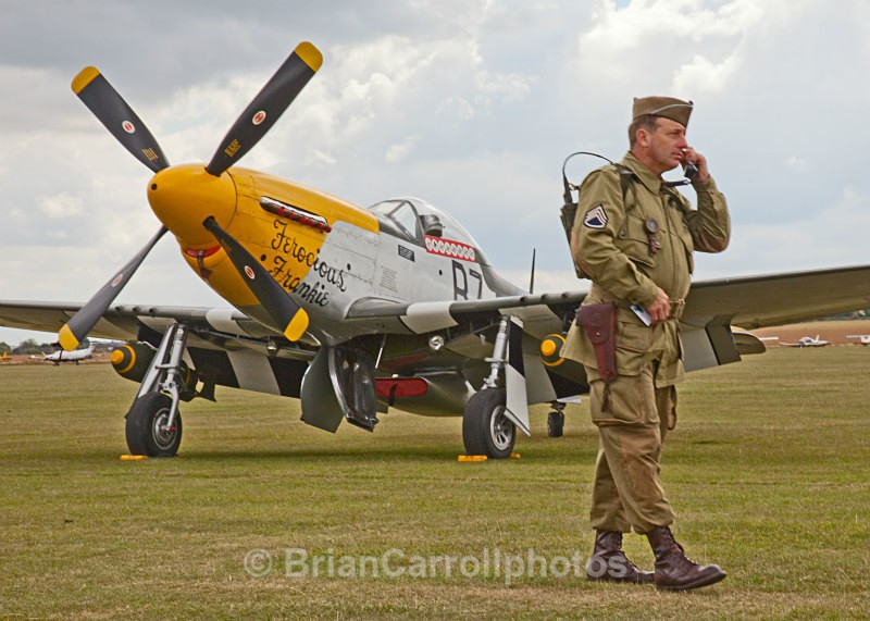 USAF North American P51 MustangG-BTC/413704/B7-H - RAF Duxford 2009 - 2014 Air Shows