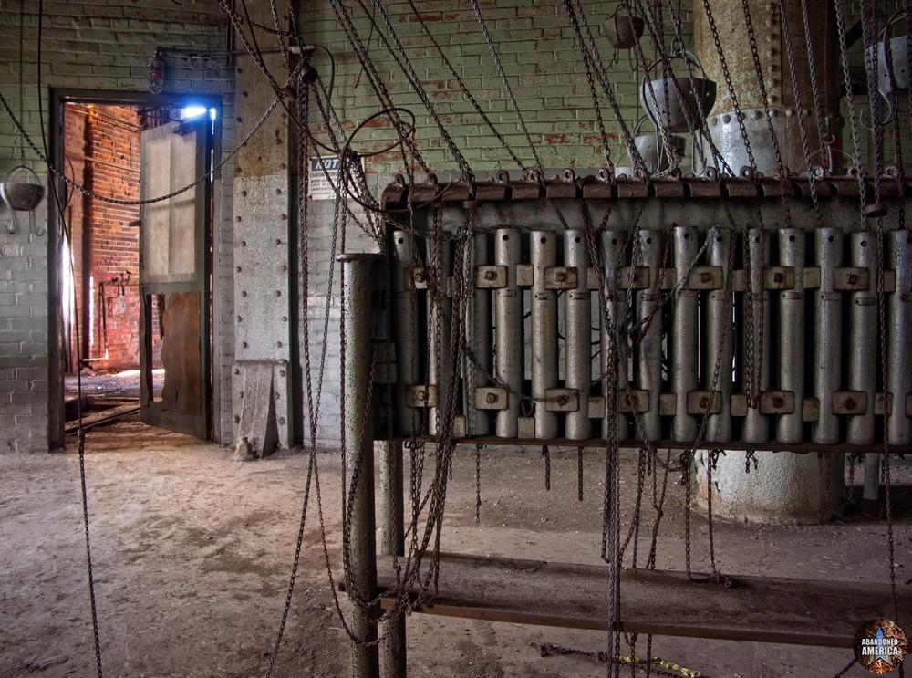 Bethlehem Steel (Bethlehem, PA) | Hanging Locker Detail - Bethlehem Steel