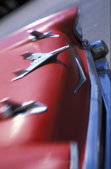Red Car - Cuba