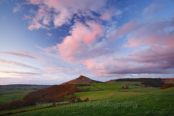 Sunset at roseberry topping   ref 0506 - North Yorkshire and Cleveland