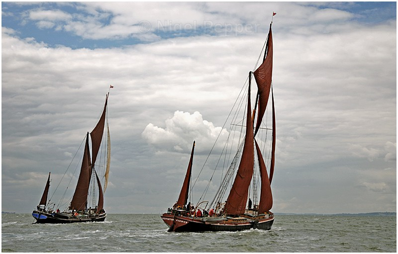 Racing Pair (1) - The Thames Barge Match