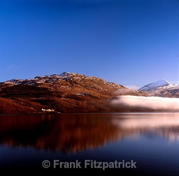 Loch Lomond from Inveruglas, Strathclyde, Scotland. - Scottish scenics