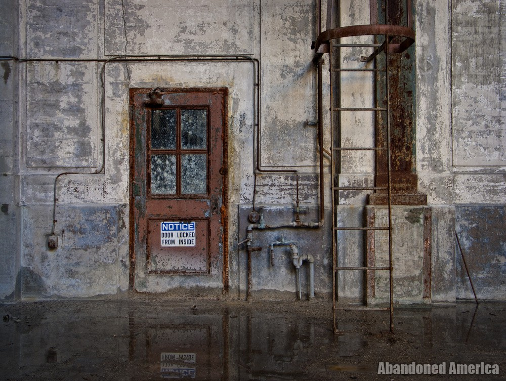 locked from the inside - Portside Power Plant*