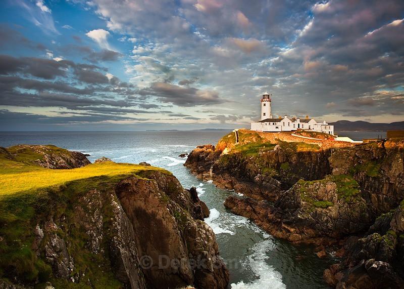 Fanad In Evening Light - Fanad Lighthouse