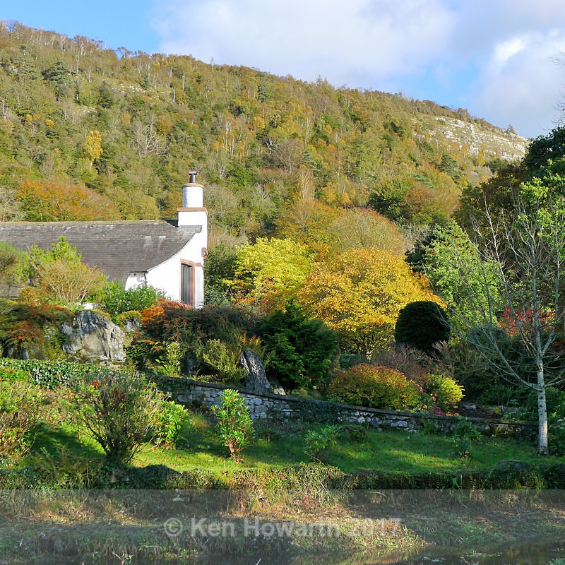 Autumn colours, Beck Head, Witherslack - Lakeland Landscapes