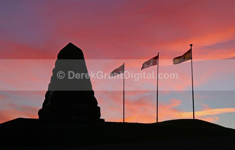 Fort Howe Monument Saint John New Brunswick Canada - Saint John