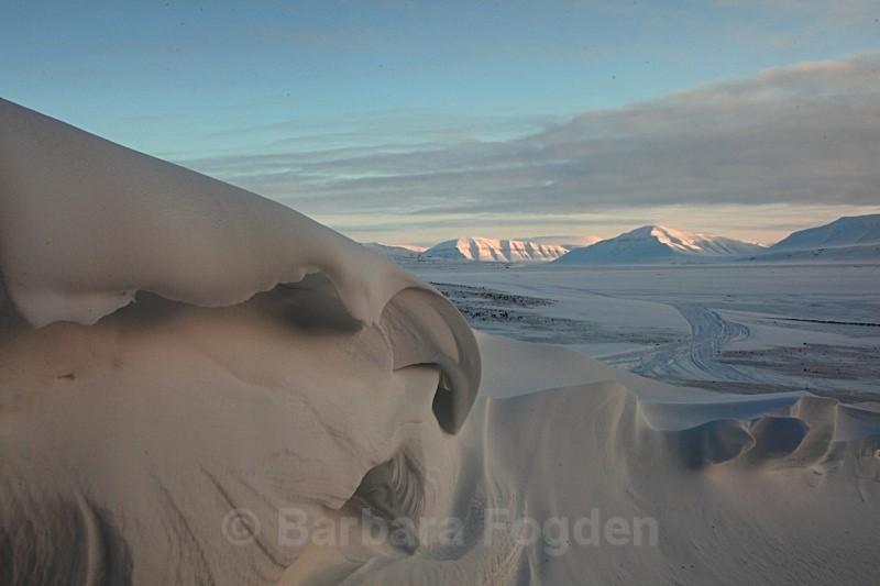 Snow in Bjonahamna 0044 - Winter in the daylight
