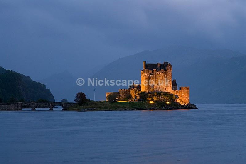 Photo of Eilean Donan Castle film location of Highlander - Scottish Landscape Photography