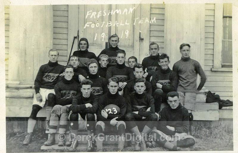 Mount Allison Mounties University Freshman Football Team 1919 - Historic New Brunswick