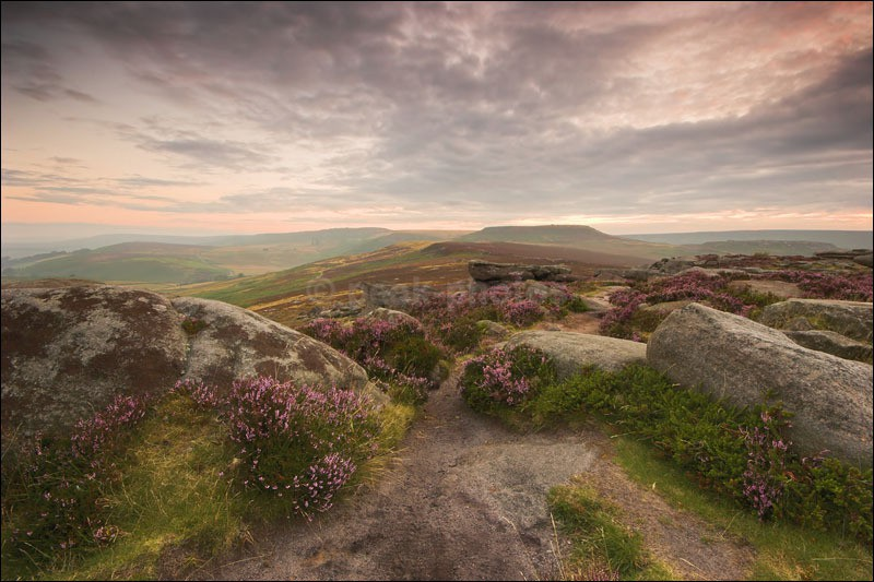 Morning Over Owler Tor - Peak District | Dark Peak