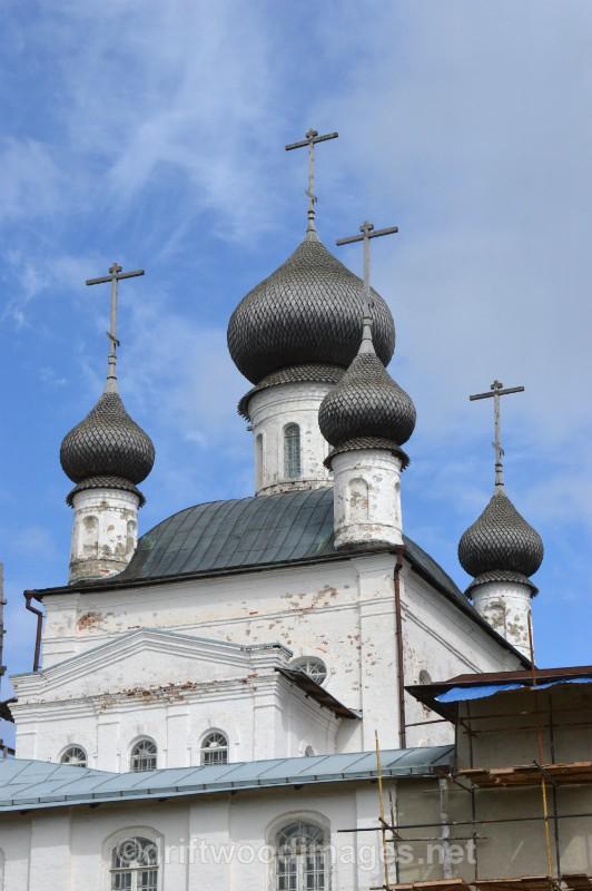 Solovetsky Islands  domes - The Solovetsky Islands, Russia