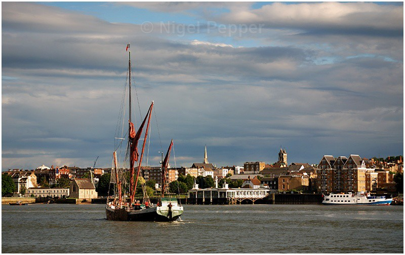 Gravesend - The Thames Barge Match