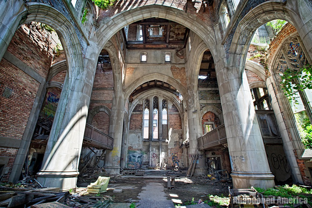 Gary, Indiana | City Methodist Church Arch - Gary, Indiana