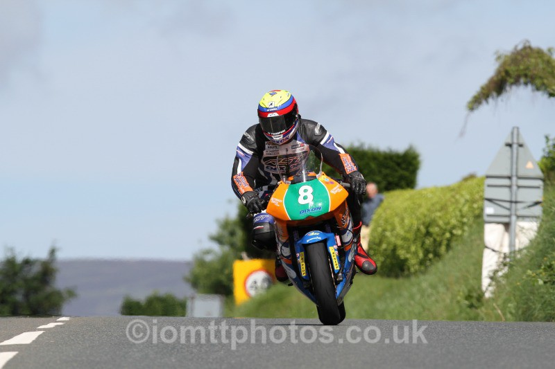Jamie Hamilton Kawasaki / Stewart Smith Racing. - Bikenation Lightweight TT
