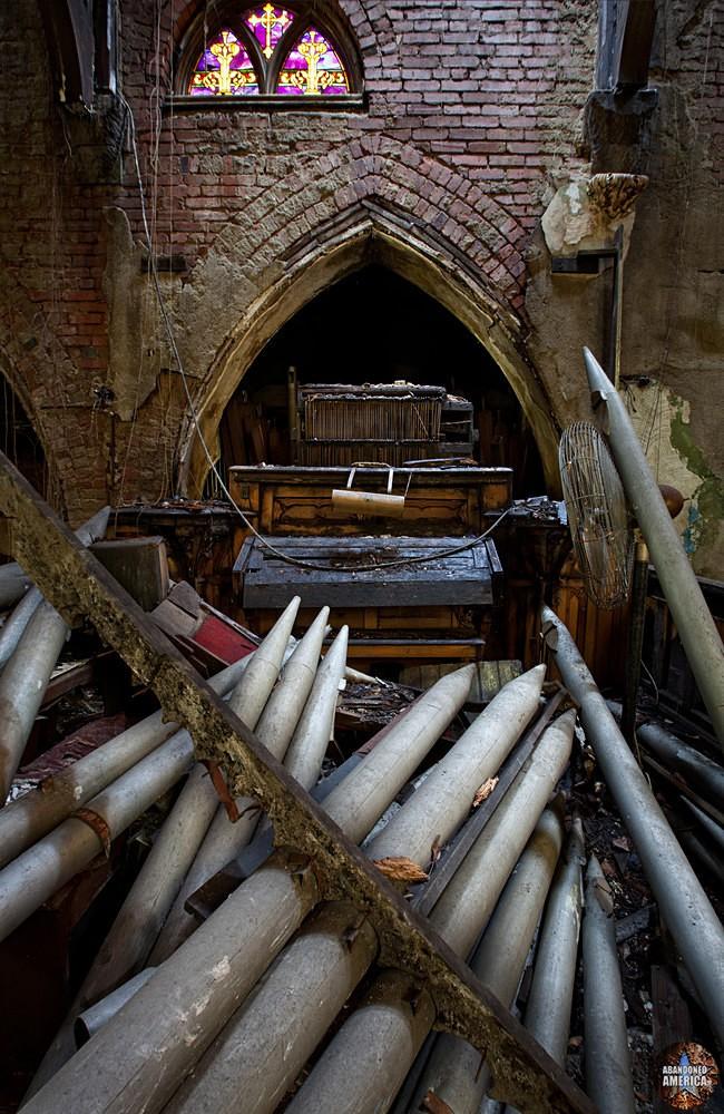 'organ failure'  | Abandoned America