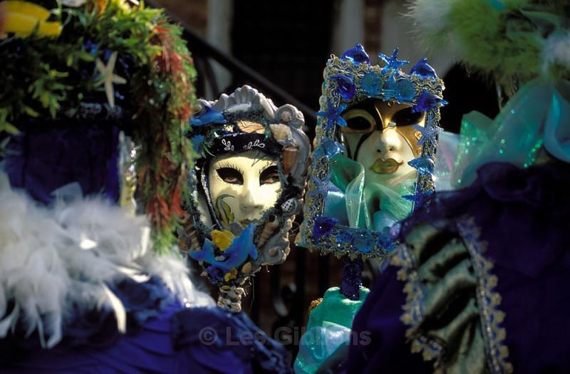 Florine and friend - Venice