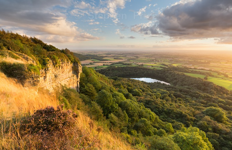 Sutton Bank Sunset | North Yorks Moors Landscape Photography