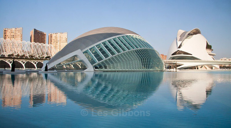 hemisphefic and opera house - Valencia