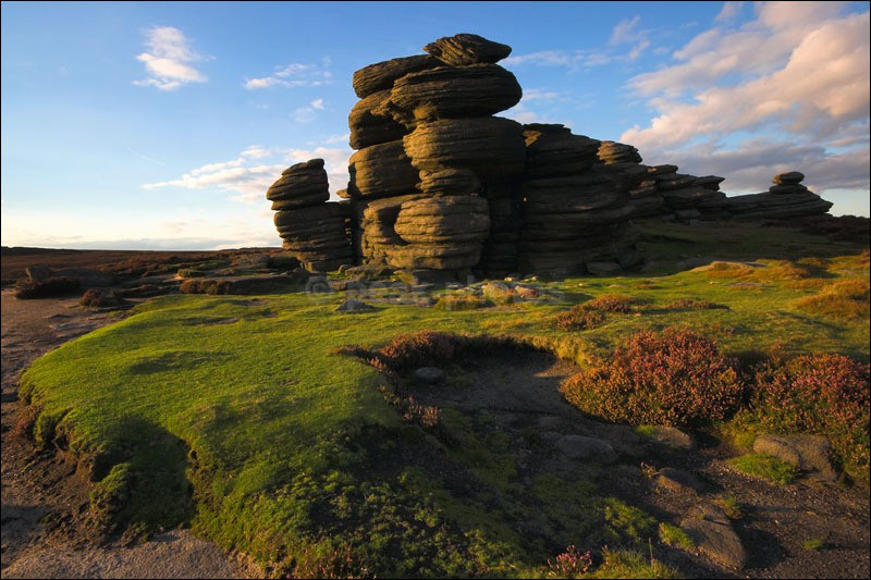 The Wheel Stones - Peak District   Dark Peak