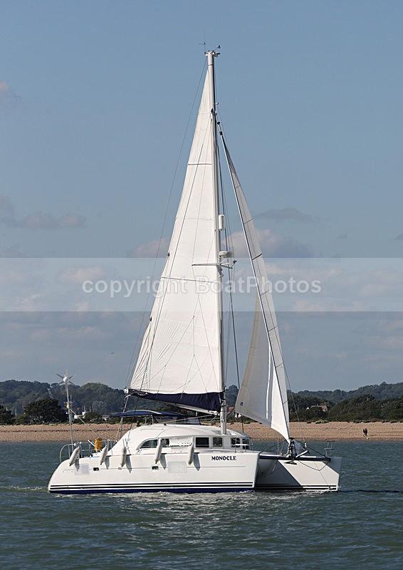 140525 MONOCLE LAGOON  WT7A3340 - Sailboats - multihull