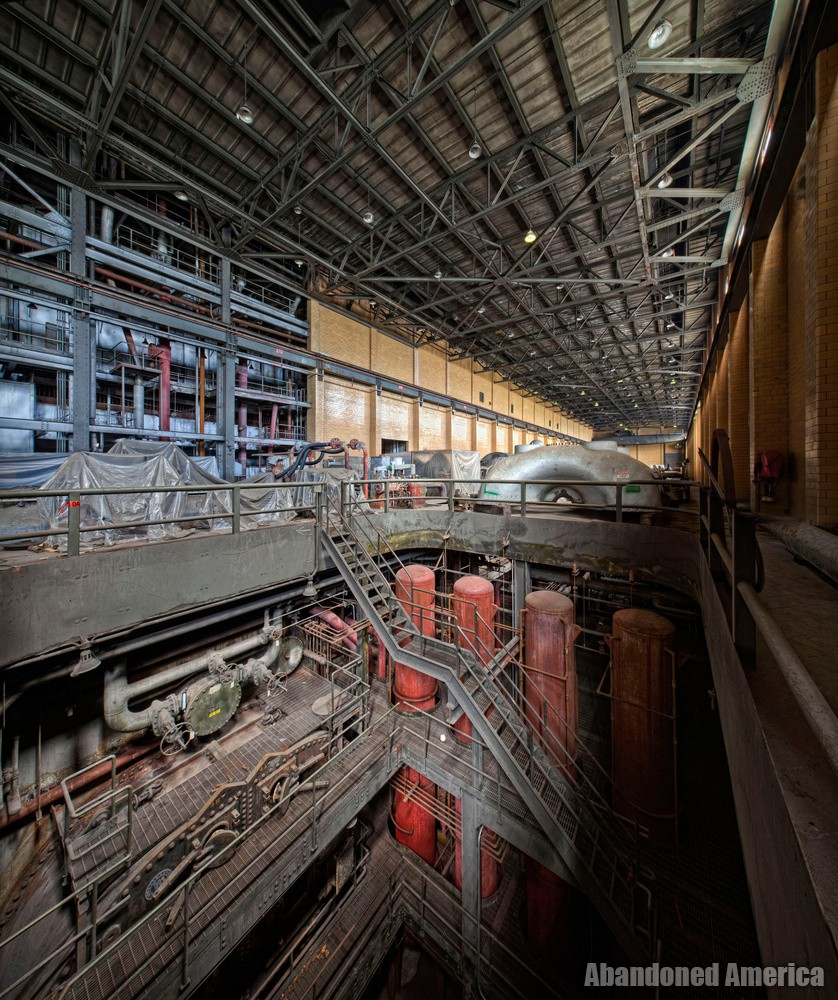 Frank R. Phillips Power Station (South Heights, PA) | Turbine Hall - Frank R. Phillips Power Station