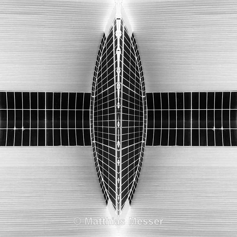 Mirrored Roof - Abstract
