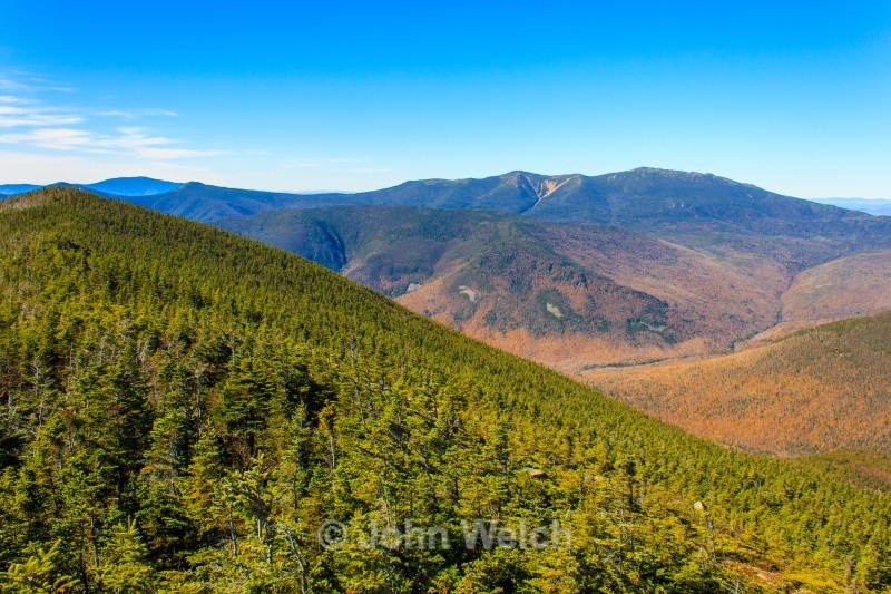 The Pemi Wilderness from West Bond - White Mountain National Forest New Hampshire