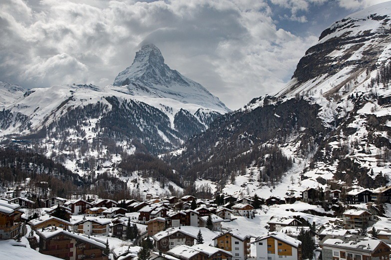 Matterhorn from Zermatt - Switzerland 2018