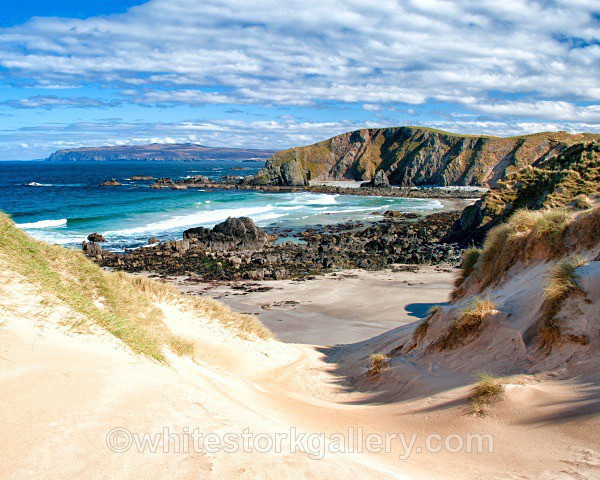 Faraid Head Beach - Scottish Highlands