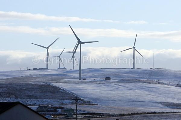 Windmills, Burgar Hill - Orkney Images