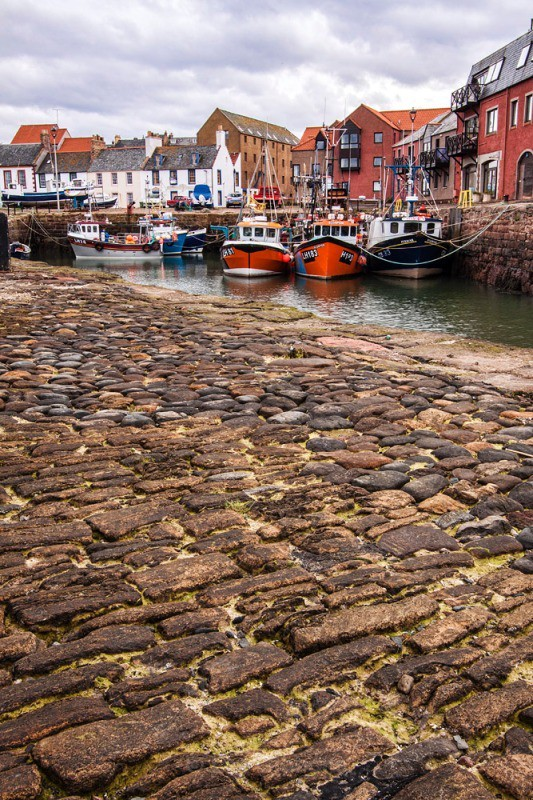 Dunbar harbour - East Coast - North Berwick and Dunbar