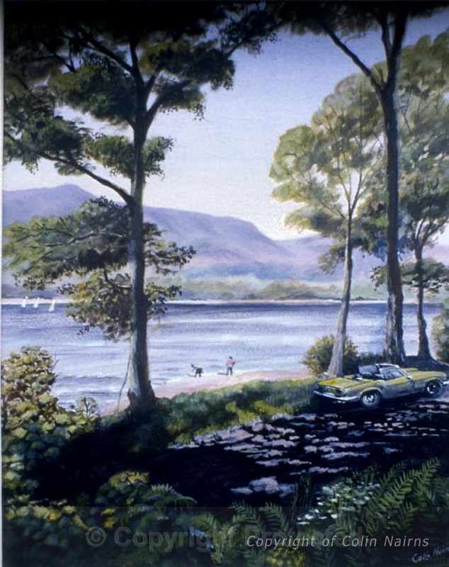 'Coniston Water' - Landscapes