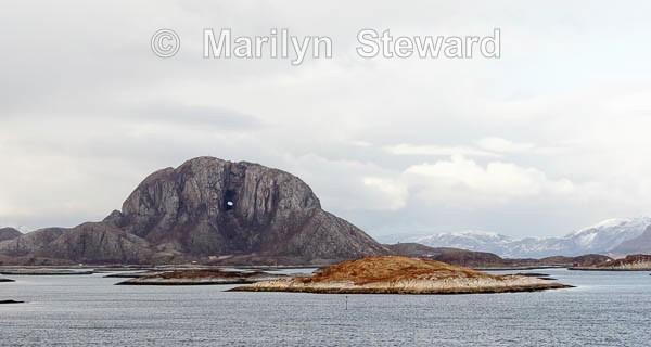 Torghatten hole - Norway Coast