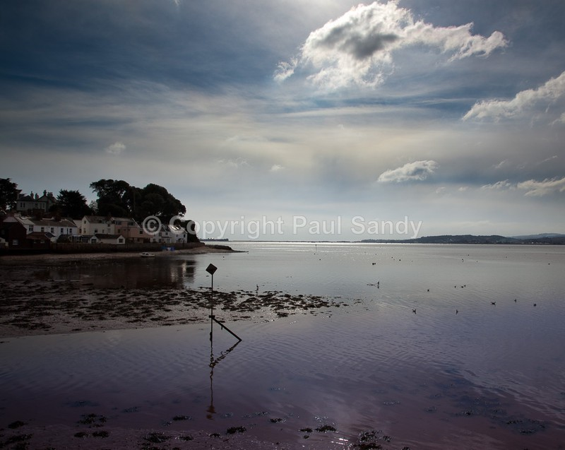 Lympstone on one of those quite calm, sunny and clear, yet bitterly cold days that this peaceful location on the Exe estuary seems to specialise in du - Featured Images