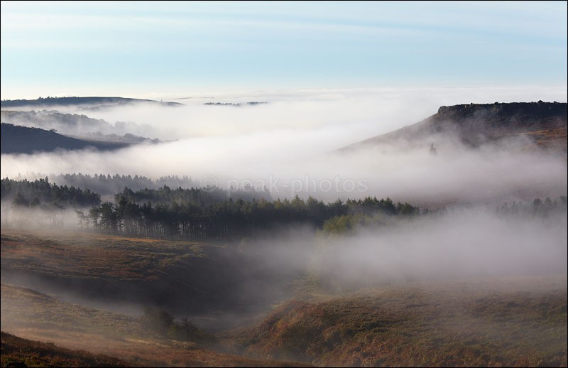 Higger Tor Mist - Peak District | Dark Peak