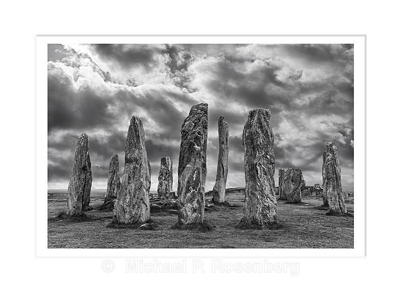 Callanish Stones, Outer Hebredis, Scotland - Scotland, UK