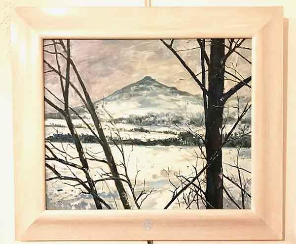 Winter Mither Tap. - Return to Bennachie.