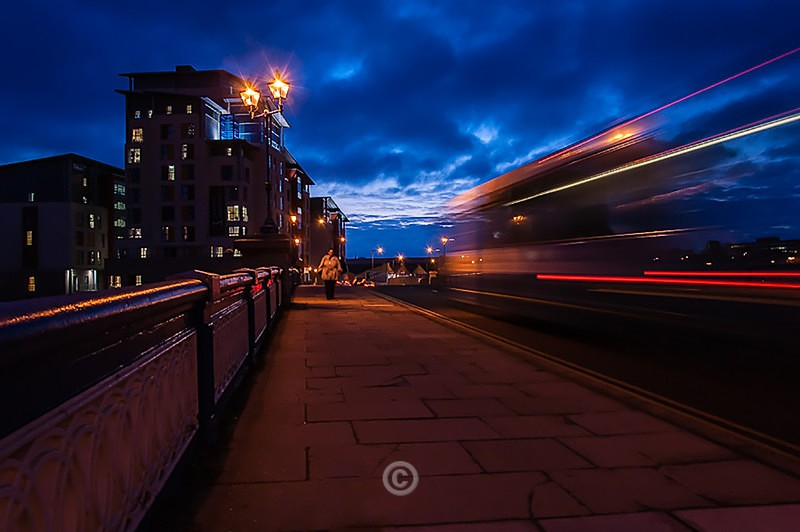 The Night Bus - North-East England