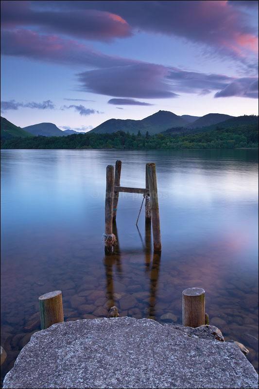 Derwent Water Jetty - Photographs of England