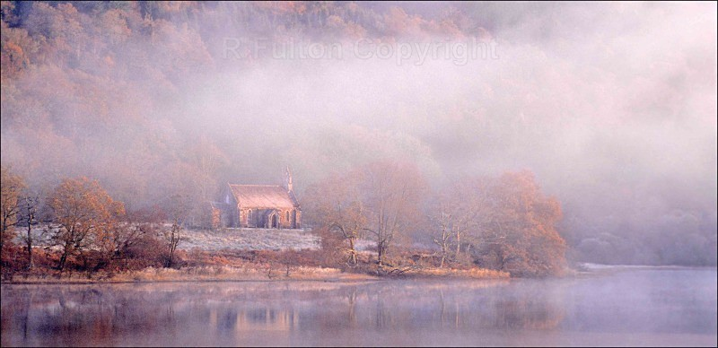 Autumn Mist - Landscapes