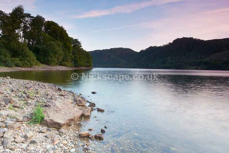 Last Light at Thirlmere Reservoir - Lake District - Lake District National Park