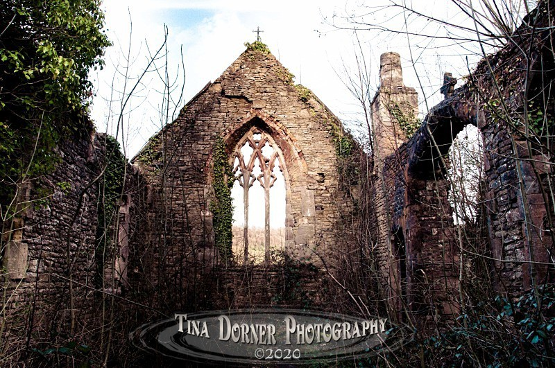 Ruins of Tintern Parish Church by Tina Dorner Photography, Forest of Dean and Wye Valley, Gloucestershire