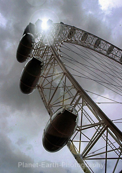 London Eye - Abstract / Creative