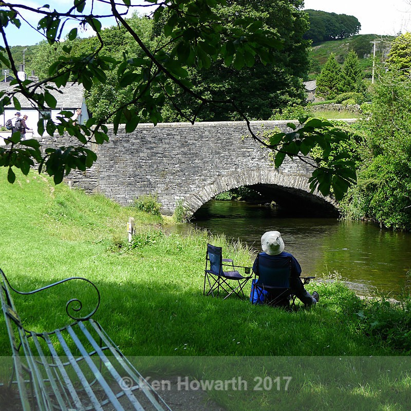 A warm summer afternoon at Spark Bridge - People and Places