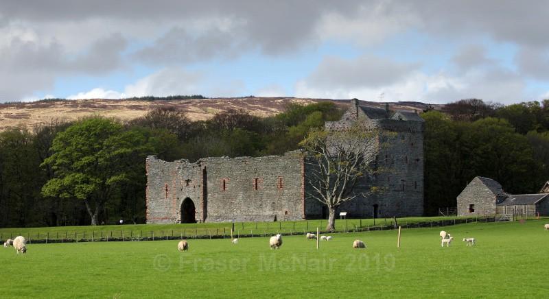 Skipness Castle_5912 - Landscape