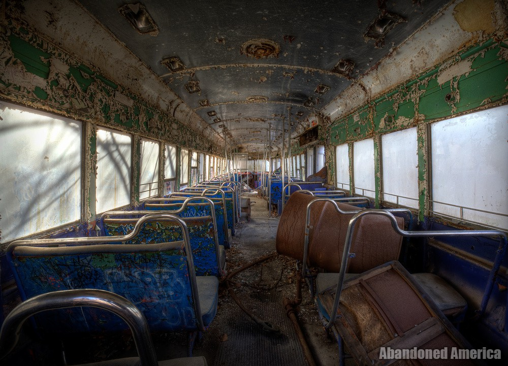 Trolley Graveyard | Dreamlike - The Trolley Graveyard