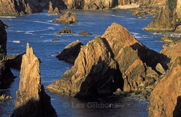 Lewis sea stacks - Harris and Lewis