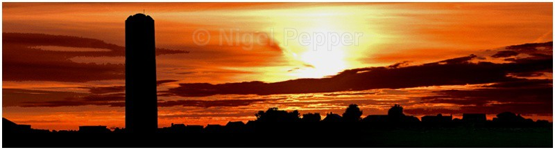 Naze Tower Sunset - Naze Tower