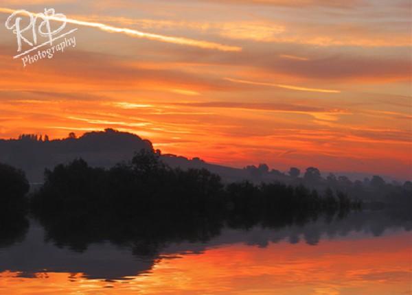 Bencroft Sunrise - Wiltshire & West Country Landscapes